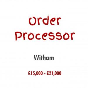 order processor new job