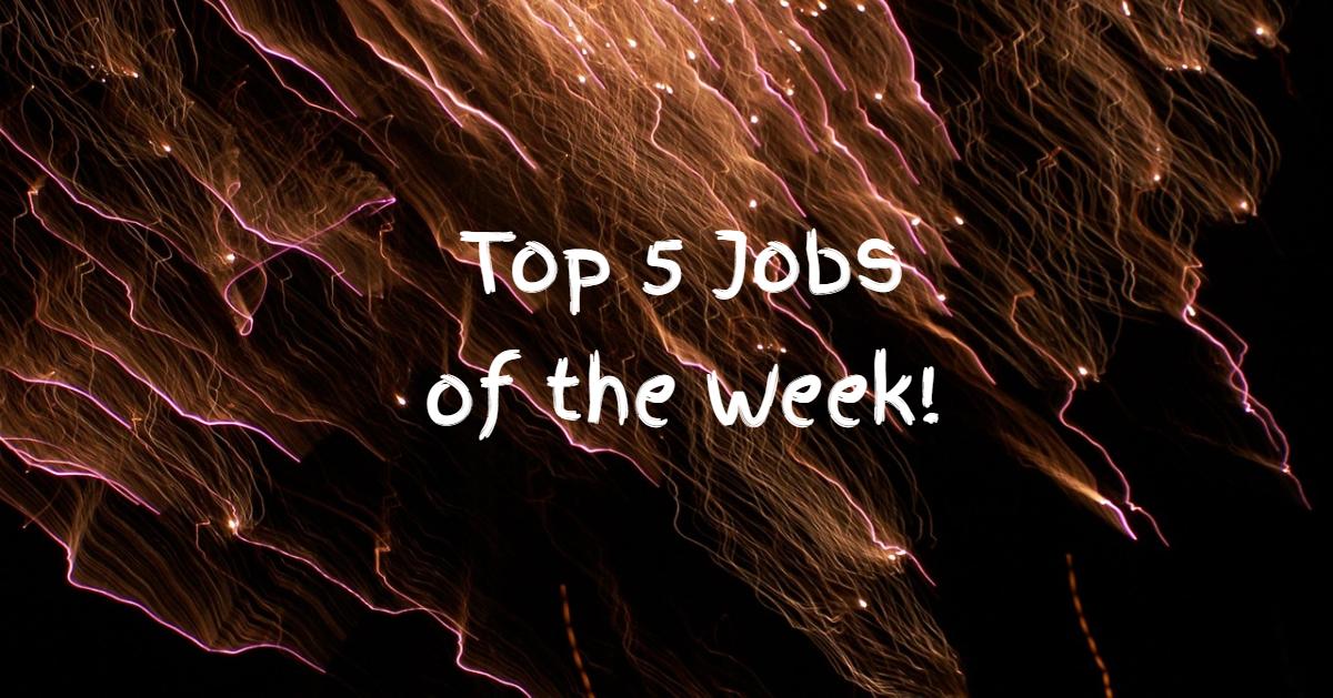 top 5 jobs essex