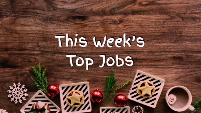 Top Jobs this Week