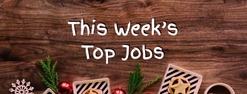 Top Jobs this Week
